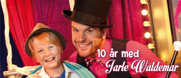 Ti år med Jarle Waldemar