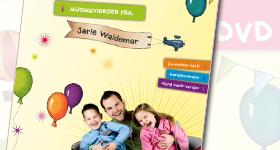 MusikkDVD Jesus elsker alle barna // Jarle Waldemar