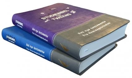 Studiebibel for tweens blå og lilla NY