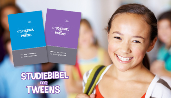 Studiebibel for tweens kollasje