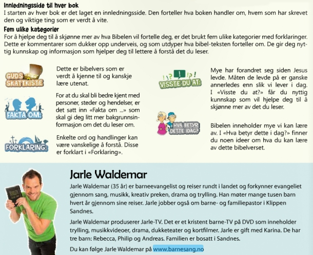 Studiebibel for tweens - om