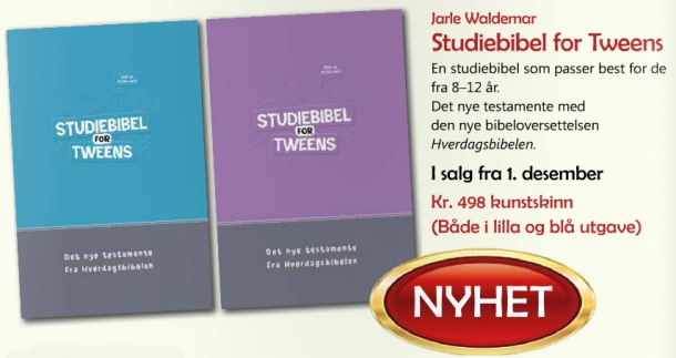 Studiebibel for tweens Oppslag